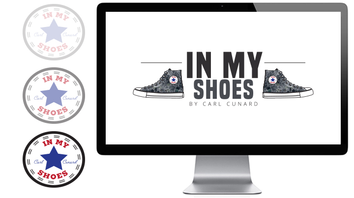 in my shoes carl cunard logo