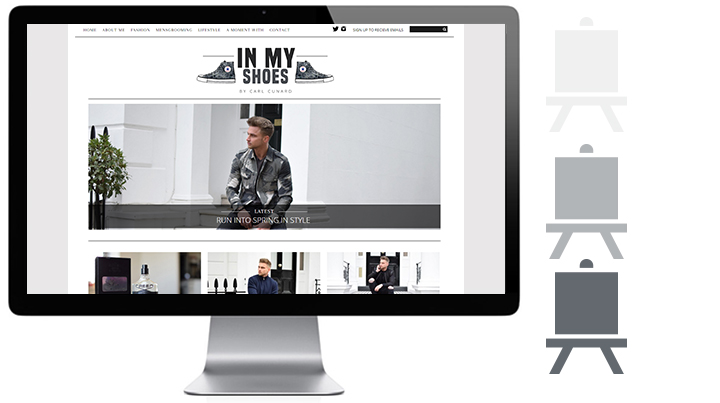 in my shoes design process